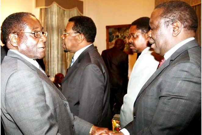 mugabe and tsvangirai relationship