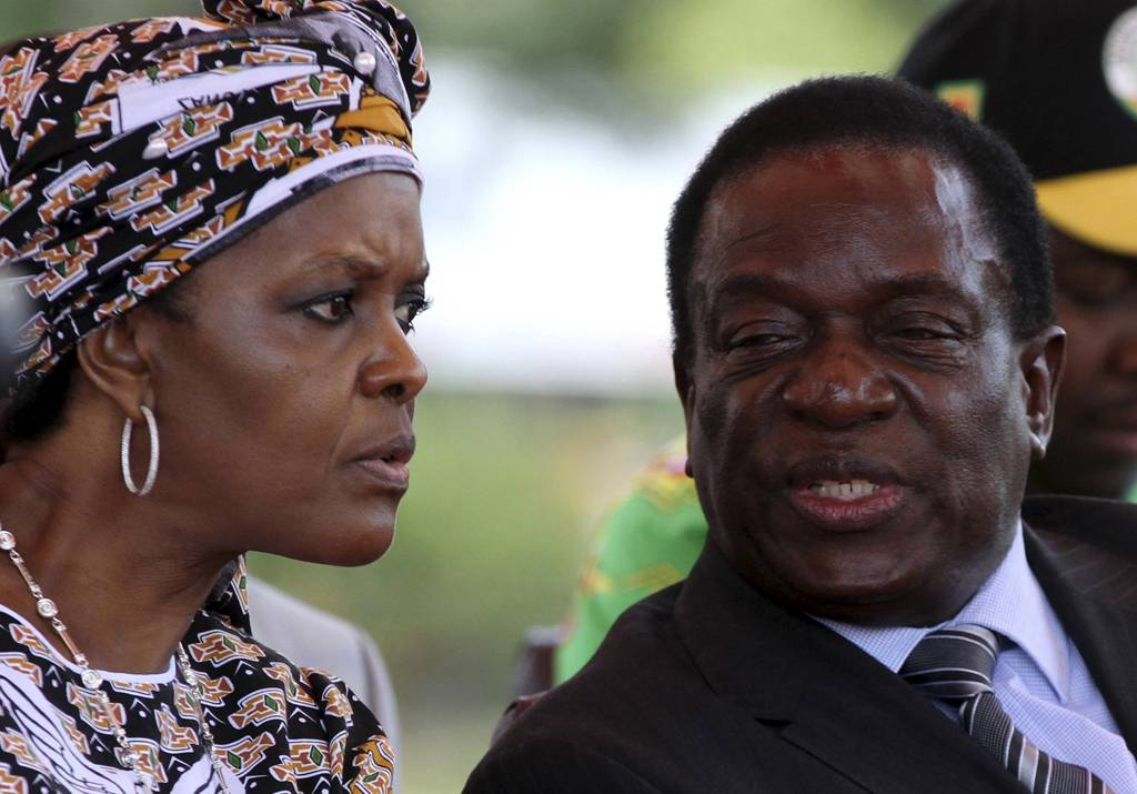 Grace Mugabe Threatened Mnangagwa Over Deadly Ice Cream The Zimbabwe Mail