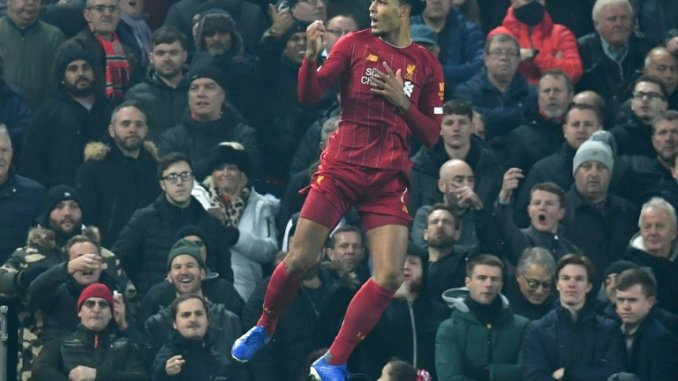 Liverpool Power Past Man Utd, Gets 16 Points Ahead